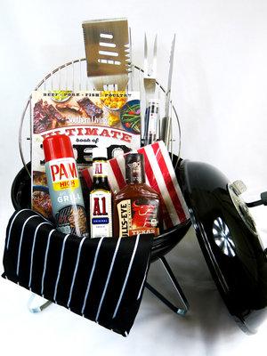 Mini BBQ Gift Basket