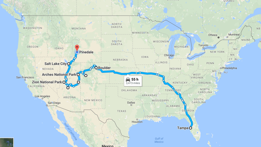 West Is Best - A roadtrip across Western America