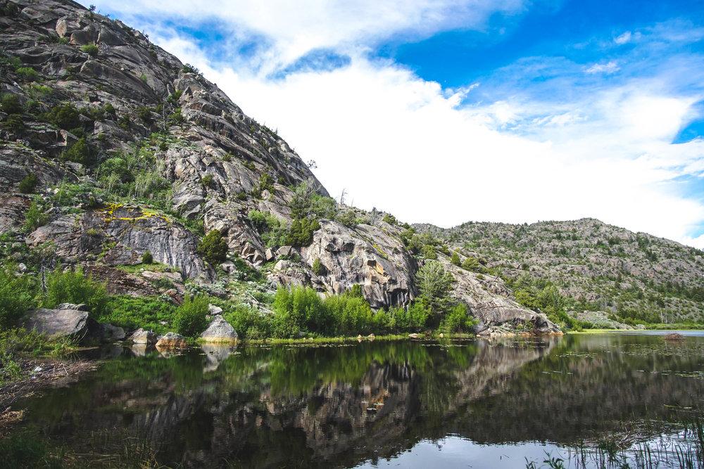 Boulder Lake Trailhead -