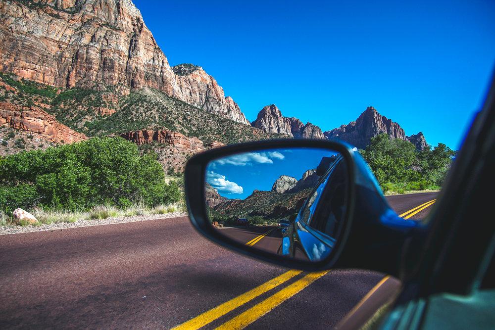 Driving Around the Park -