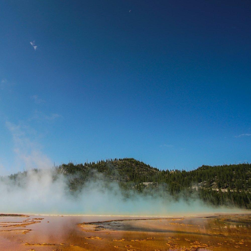 Grand Prismatic Springs -
