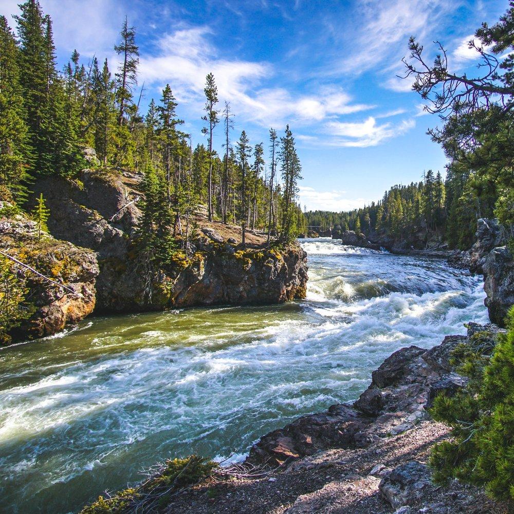 Upper Yellowstone Falls -