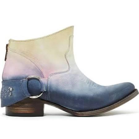 vintage tie dye cowboy kicks