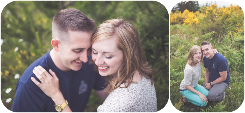 omantic qualicum beach photographer, romantic vancouver island engagement photographer, whimsical photography bc, spider lake portrait sessions, wildflowers portrait sessions