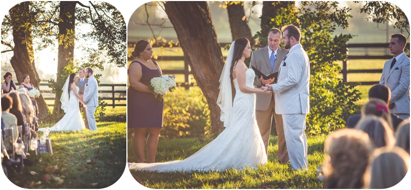Romantic Fasig Tipton Farm Wedding