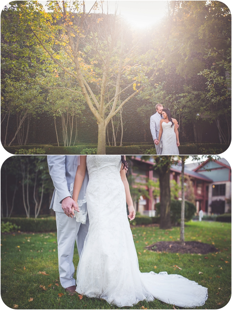 fasig tipton bride and groom portraits