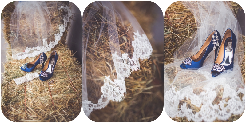 romantic farm wedding veil photos, bridal details farm wedding
