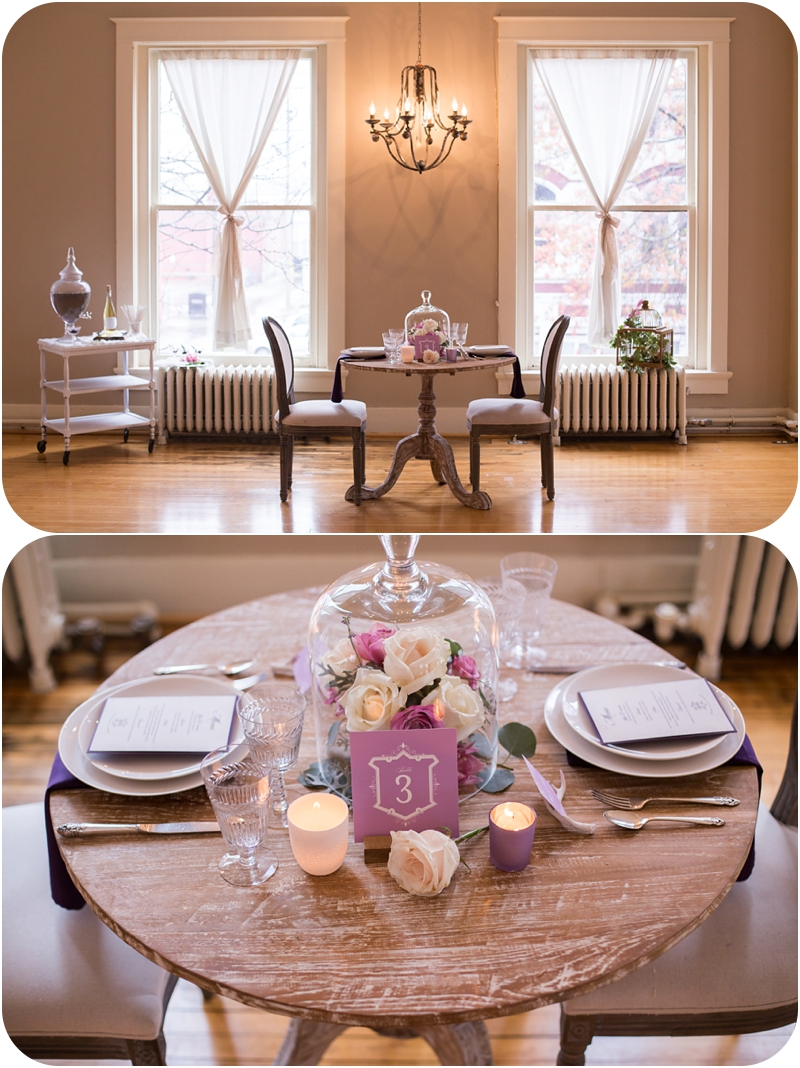 The Southern Soiree tabletop rentals and winter wedding decor by Event 29