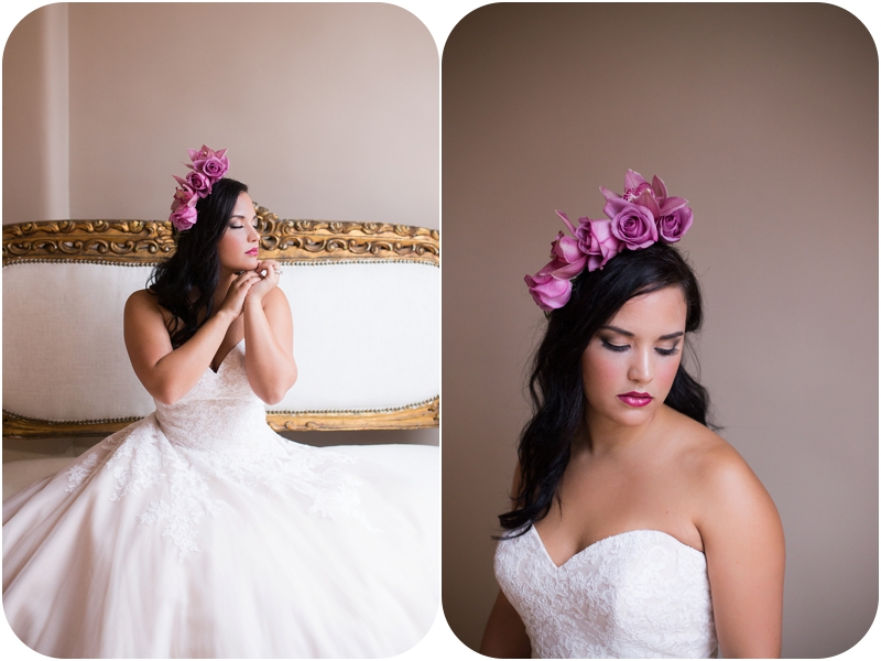 elegant bridal portraits by window with makeup by michaela frances artistry in indiana