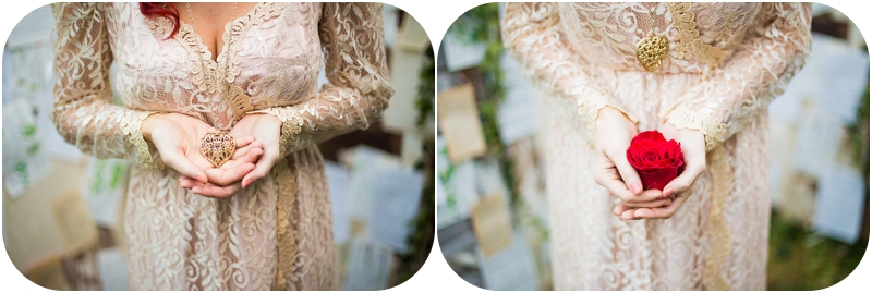 vancouver island styled wedding details