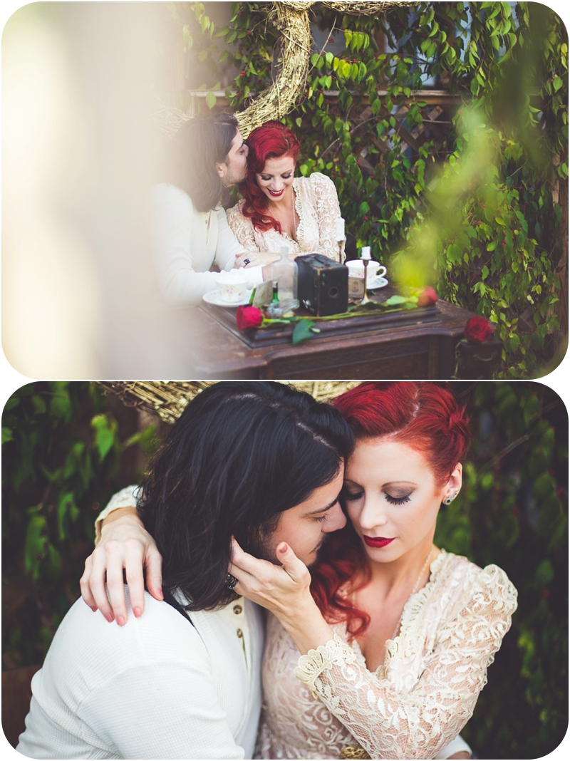 romantic styled wedding photos