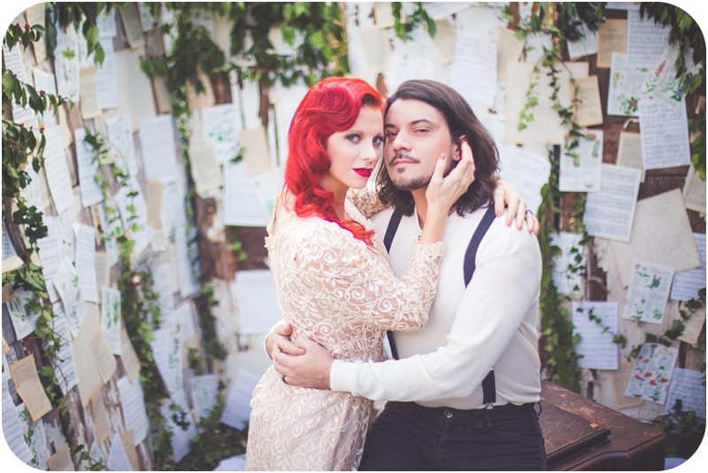moulin rouge inspired wedding vancouver island