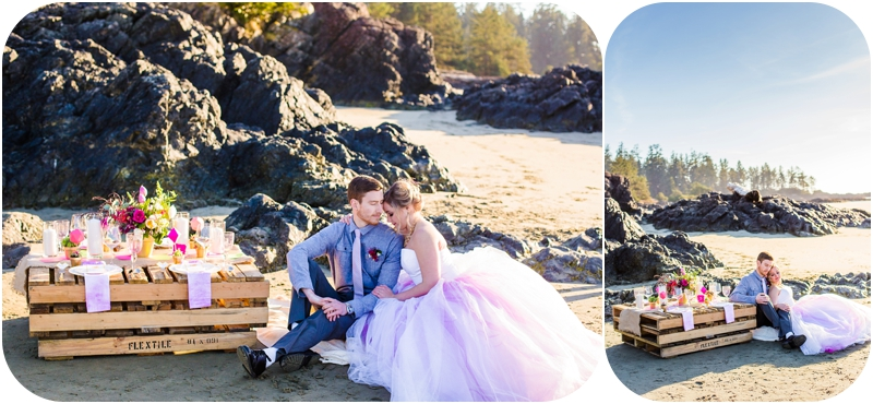 wickinnanish-beach-elopement-styled-hot-pink-tofino-weddings-15