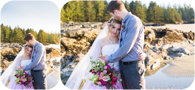 wickinnanish-beach-elopement-styled-hot-pink-tofino-weddings-24
