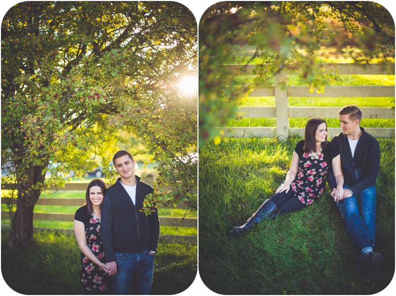 heather hutchison and husband get couples portraits taken in qualicum beach at sunset