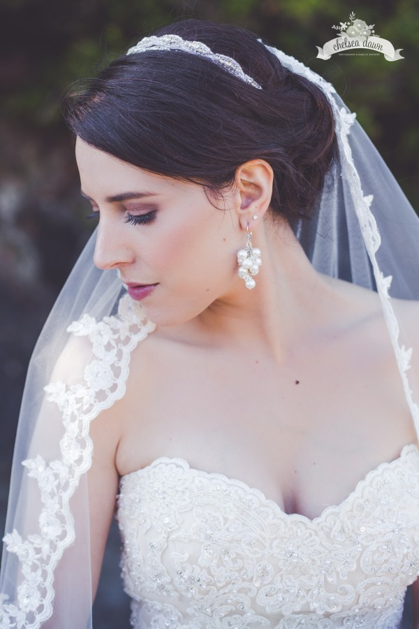 airbrush bridal makeup look for romantic tofino wedding