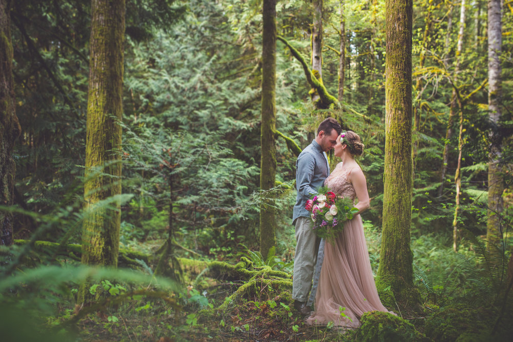 Romantic Vancouver Island Elopement Photographer