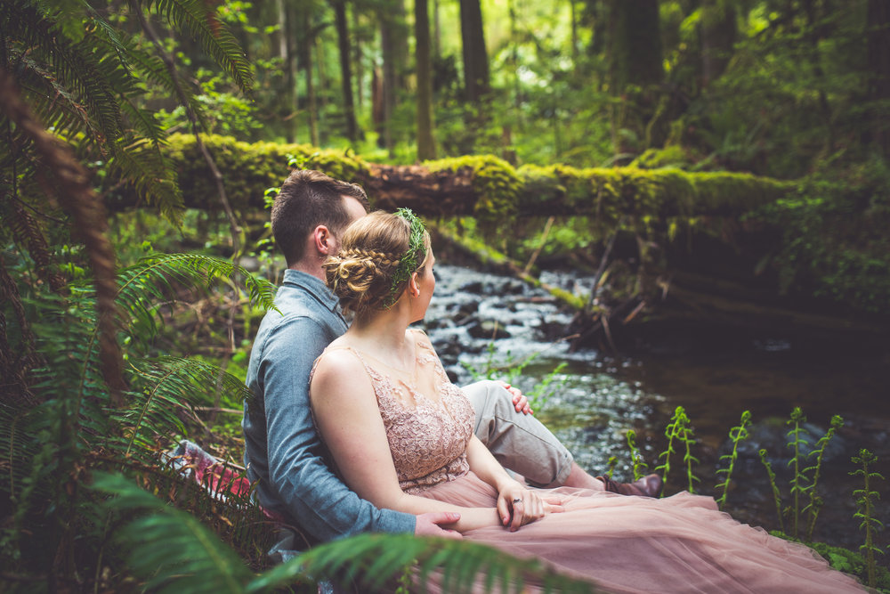 Rivers Edge Wedding Vancouver Island