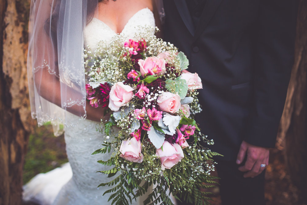 gorgeous bridal bouquet for mount washington resort wedding