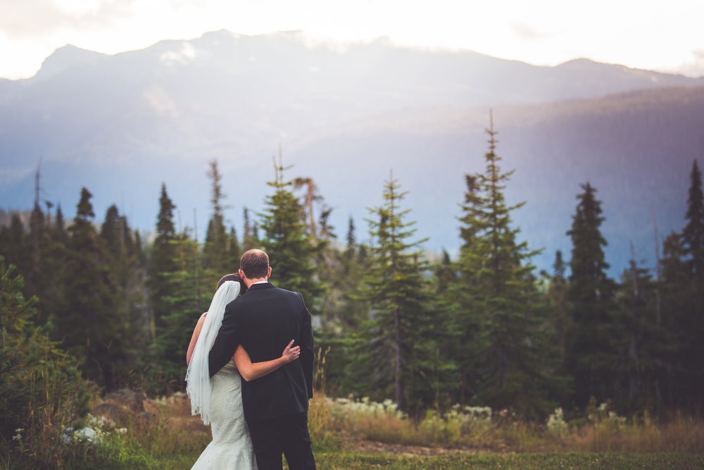 mountain wedding vancouver island bc