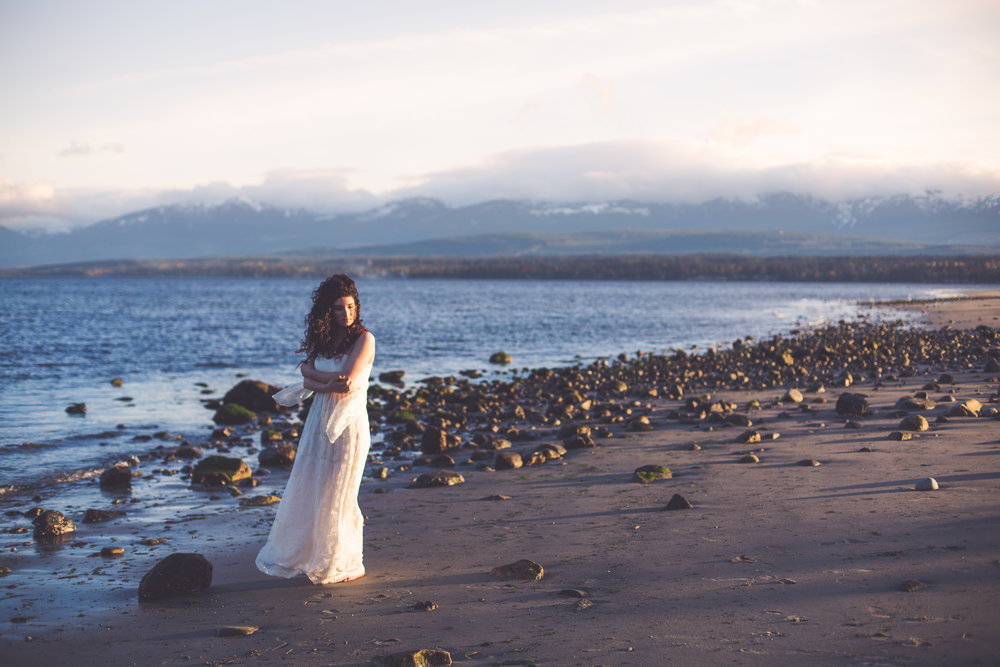 bridal session vancouver island