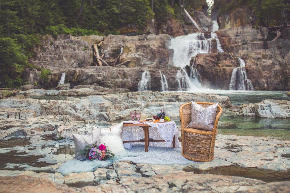 picnic at myra falls strathcona park
