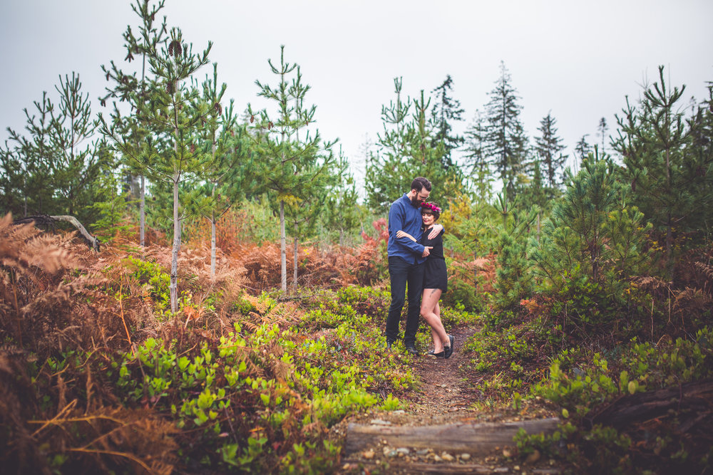 qualicum beach engagement photographer