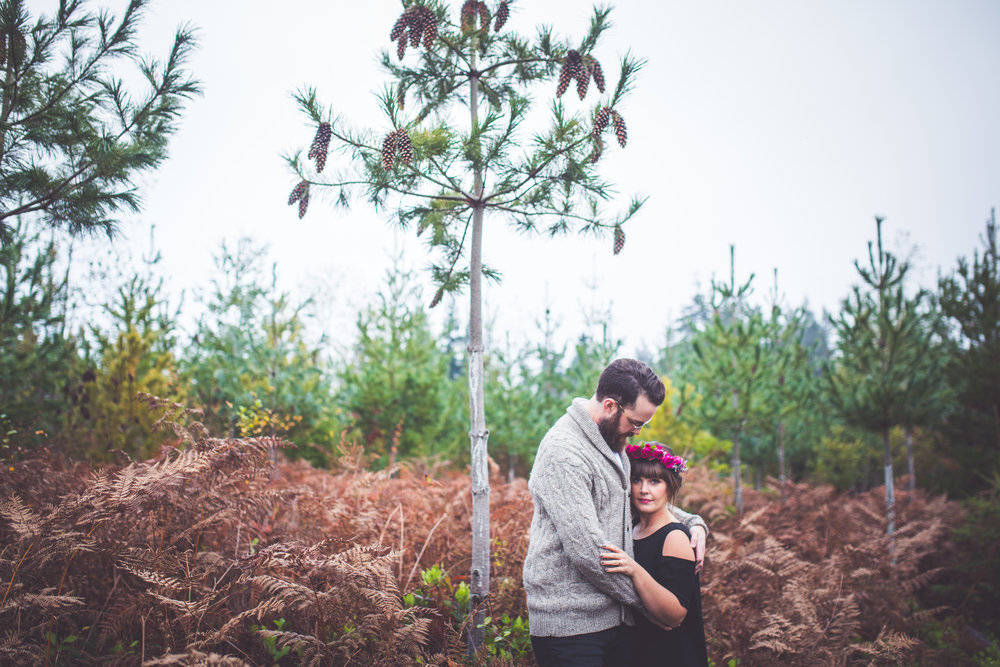 whimsical engagement photography vancouver island