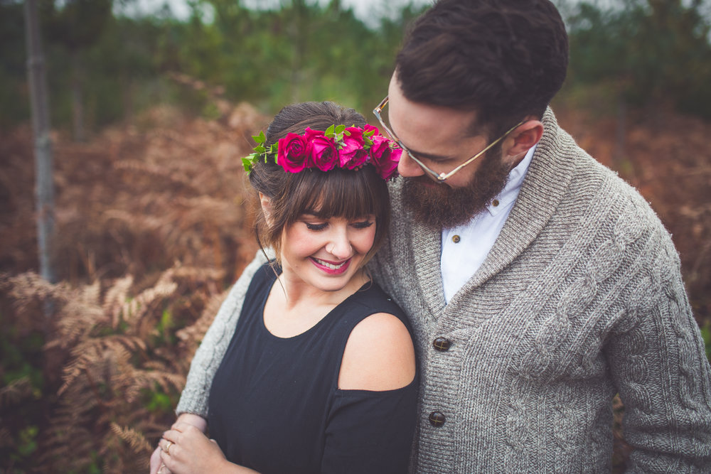 dreamy engagement photographer vancouver island