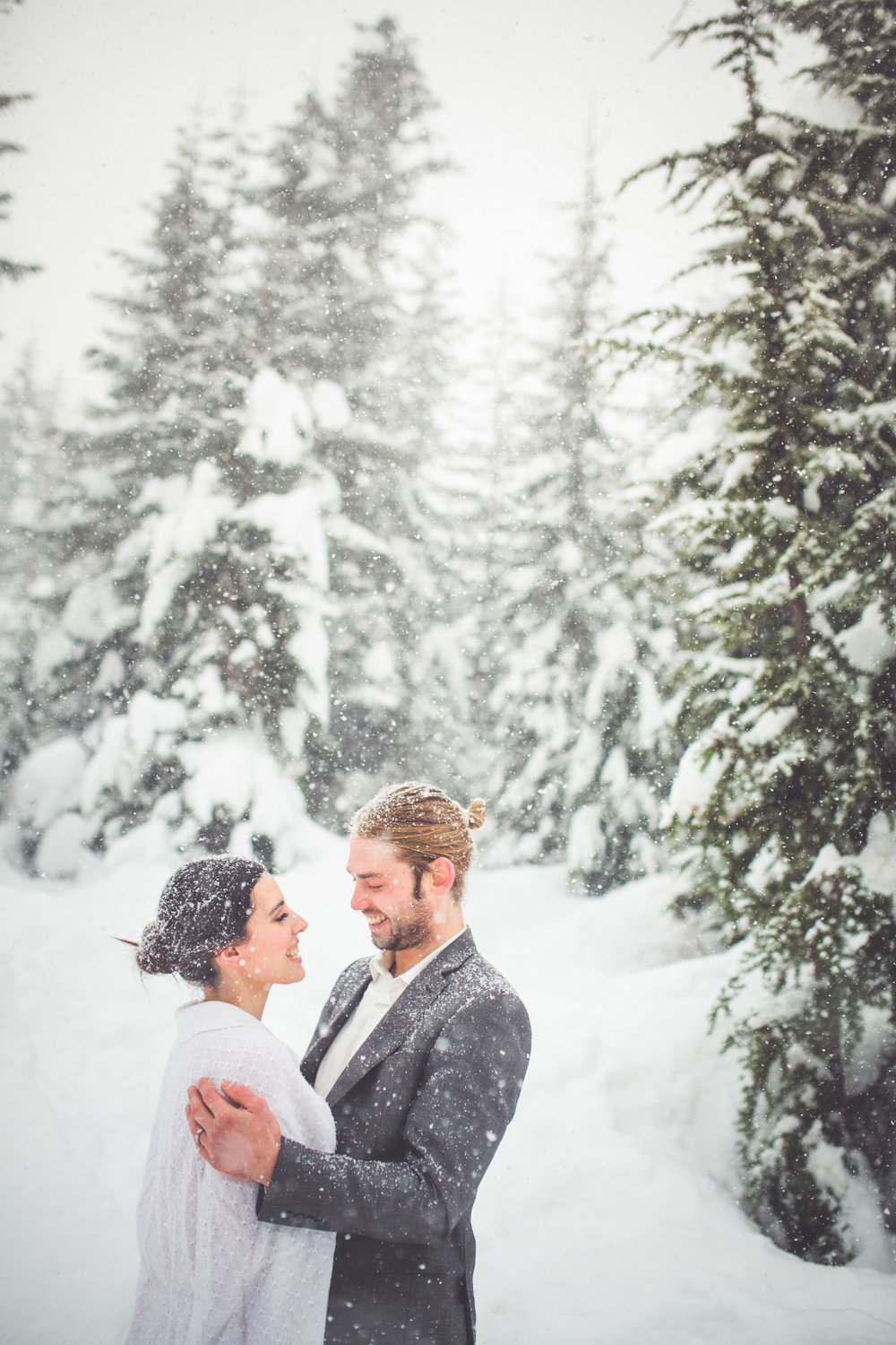 winter wedding inspiration vancouver island