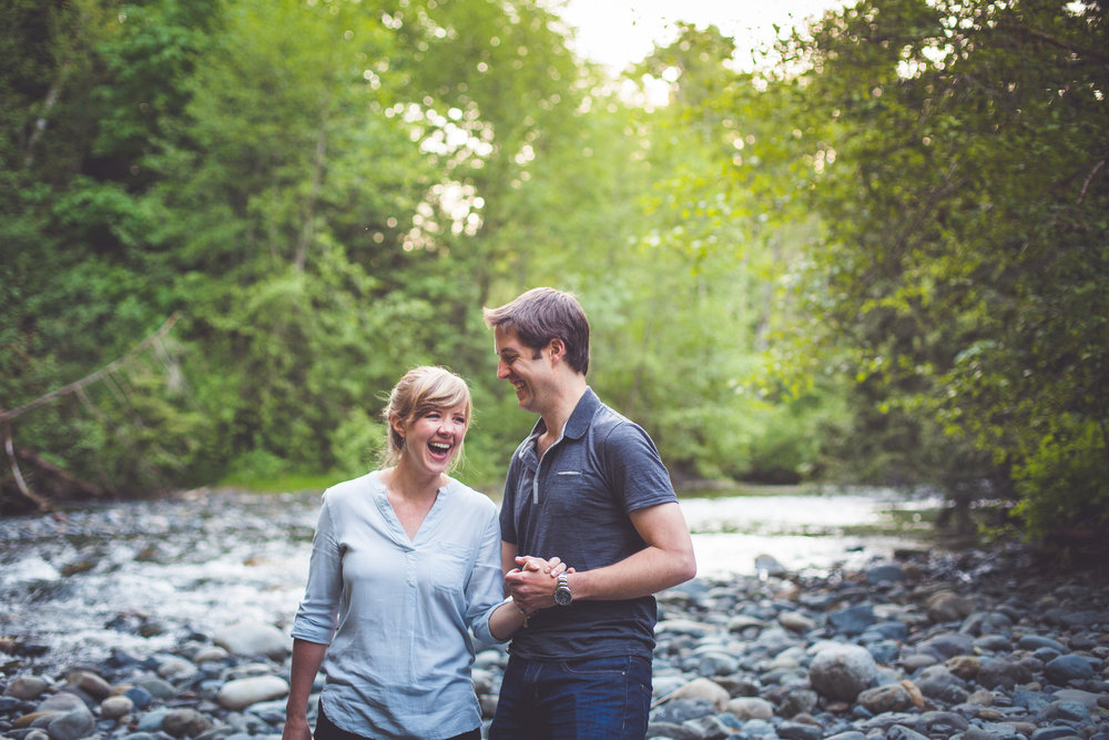 rosewall creek engagement session