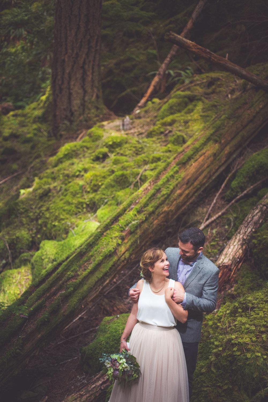 Vancouver island elopements