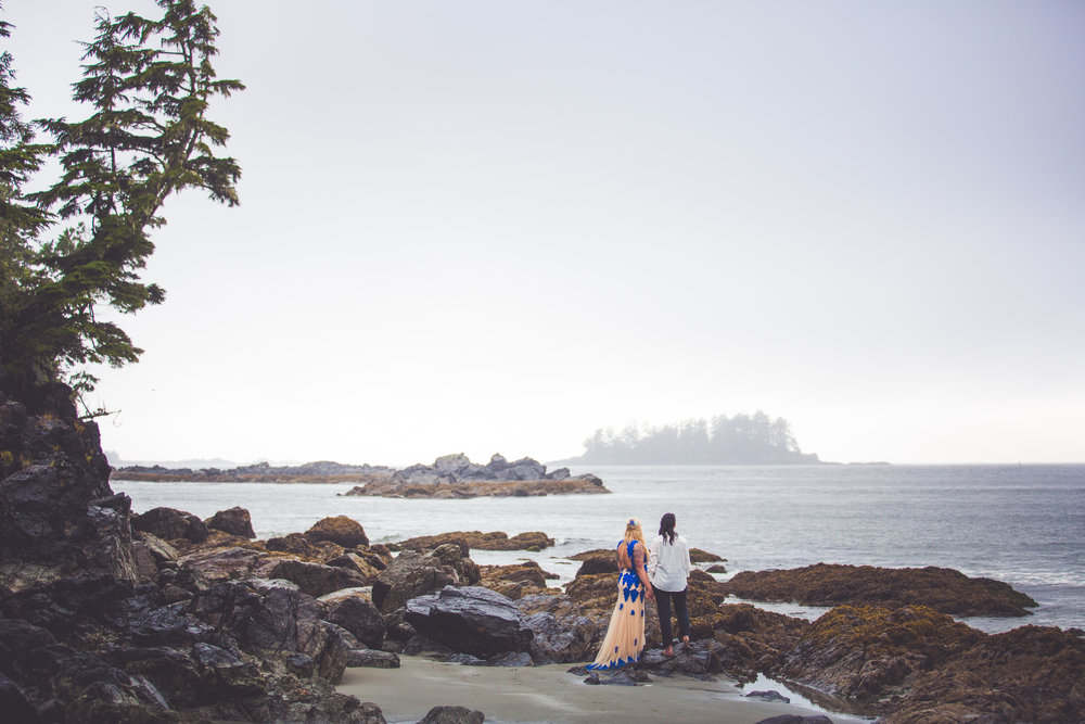 Vancouver Island Wiccan Wedding Photographer