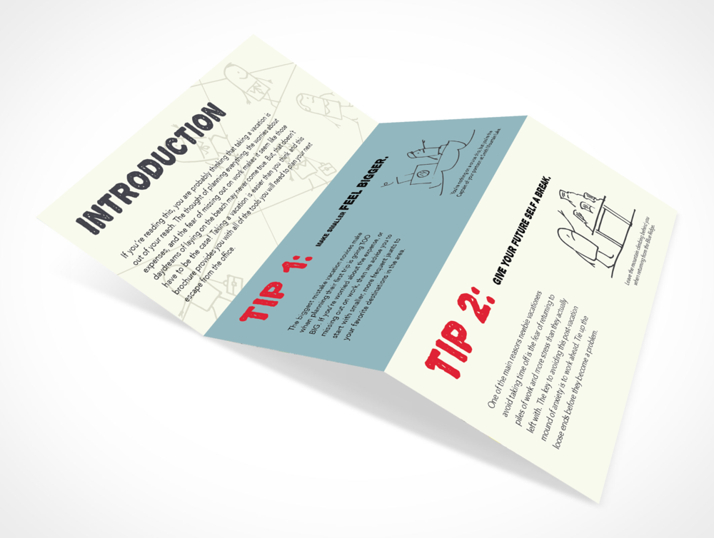 """Direct Mail: 92% of millennials are influenced by direct mail, compared to just 78% who are influenced by email campaigns. These playful """"Beginner's Guide""""brochures will catch the attention of millennials in the mid-Atlantic market."""