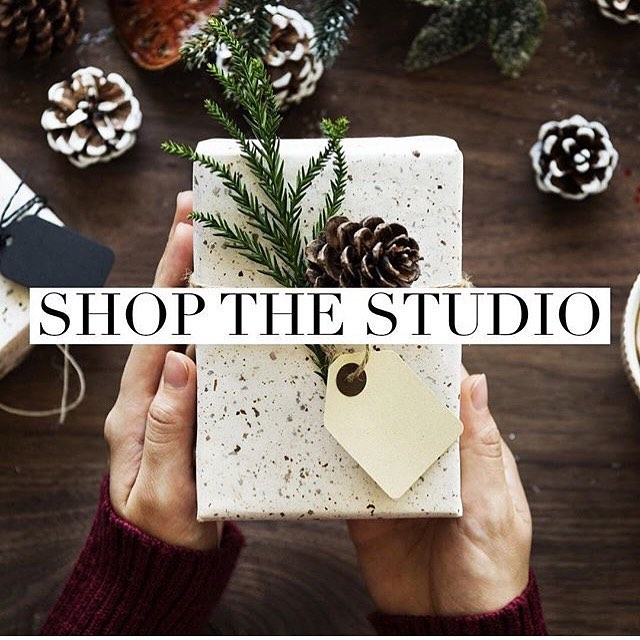 THIS FRIDAY from 5-9, come shop the studio. It's First Friday's in the Exchange, Lucky Girl is happening around the corner at Hut K so you can make a whole night of it. I'm having @locatethelocal and @jessmadill pop up in the studio as well with Canadian Made goodies and vintage fashion, and @callenfroese will be open just down the hall from me. And I'm making Glühwein. Be there.