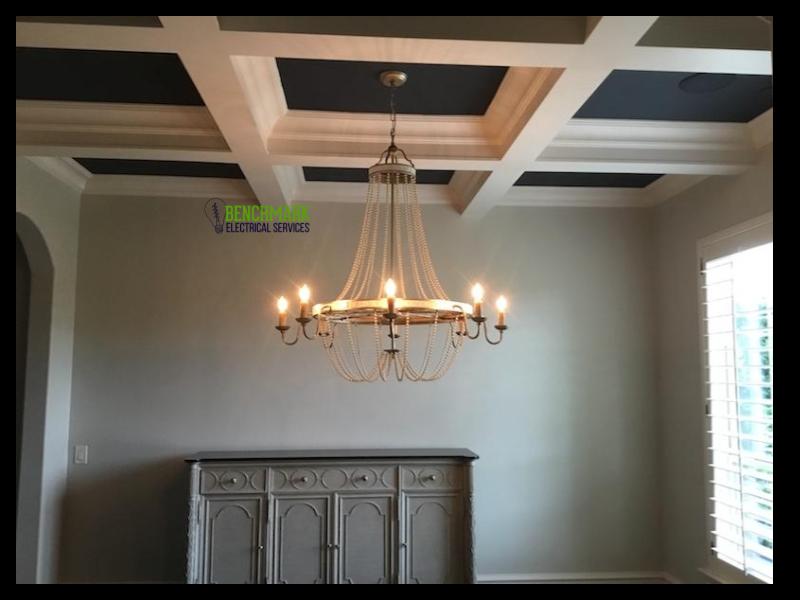 Formal dining chandelier