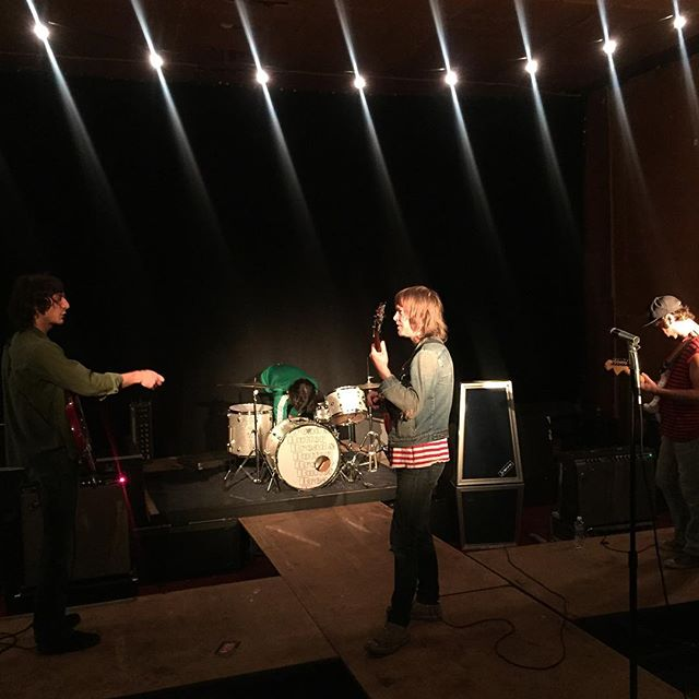 """Video shoot for """"Desperation"""" by Bread & Butter."""