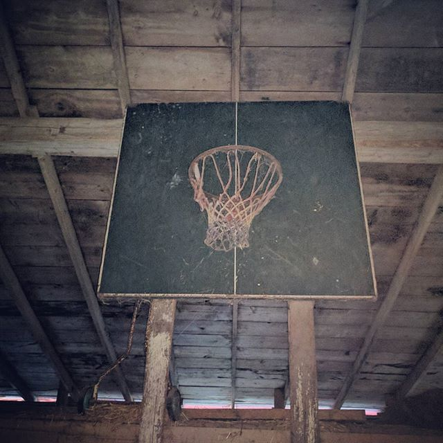 Where this farm kid learned how to ball...