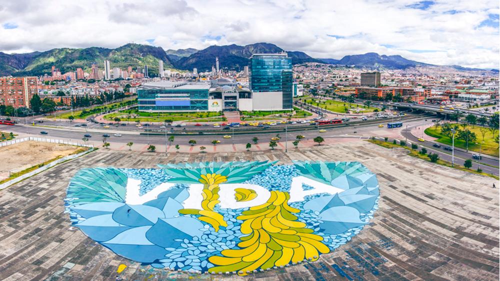 Intervención Plaza de La Hoja, 2015. Programa de Mejoramiento Integral de Barrio - SDHT (Secretaría Distrial del Hábitat)