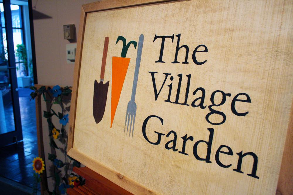 The Village Garden Identity