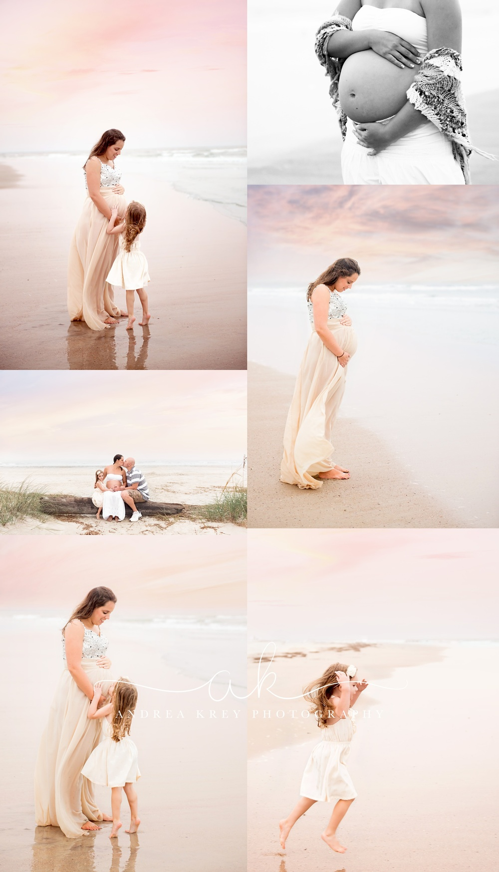 Maternity Tybee beach session