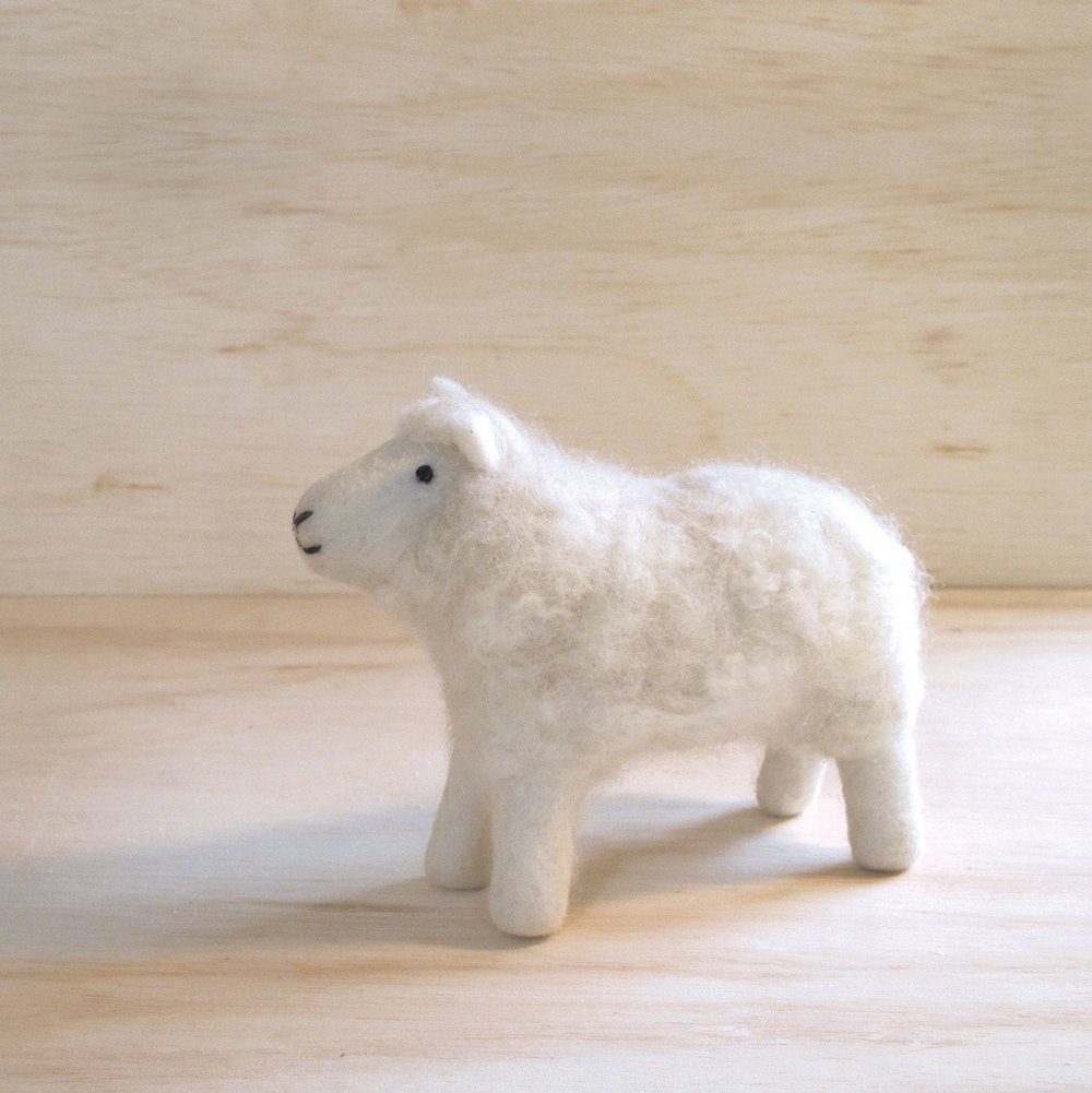 FELT ANIMAL | $20 - Ditch the plastic stocking stuffers! This adorable little guy is made from natural wool and handfelted by artisans in Nepal. Even better? He has friends! You can also purchase a fox, elephant, puppy, and even a giraffe. Makes for a sweet gift for children and adults alike.HOW YOU GIVE BACK | Your purchase supports MULXIPLY, which partners with fair trade artisan groups throughout the Kathmandu Valley and creates job opportunities for urban and rural women seeking to lift themselves out of poverty.