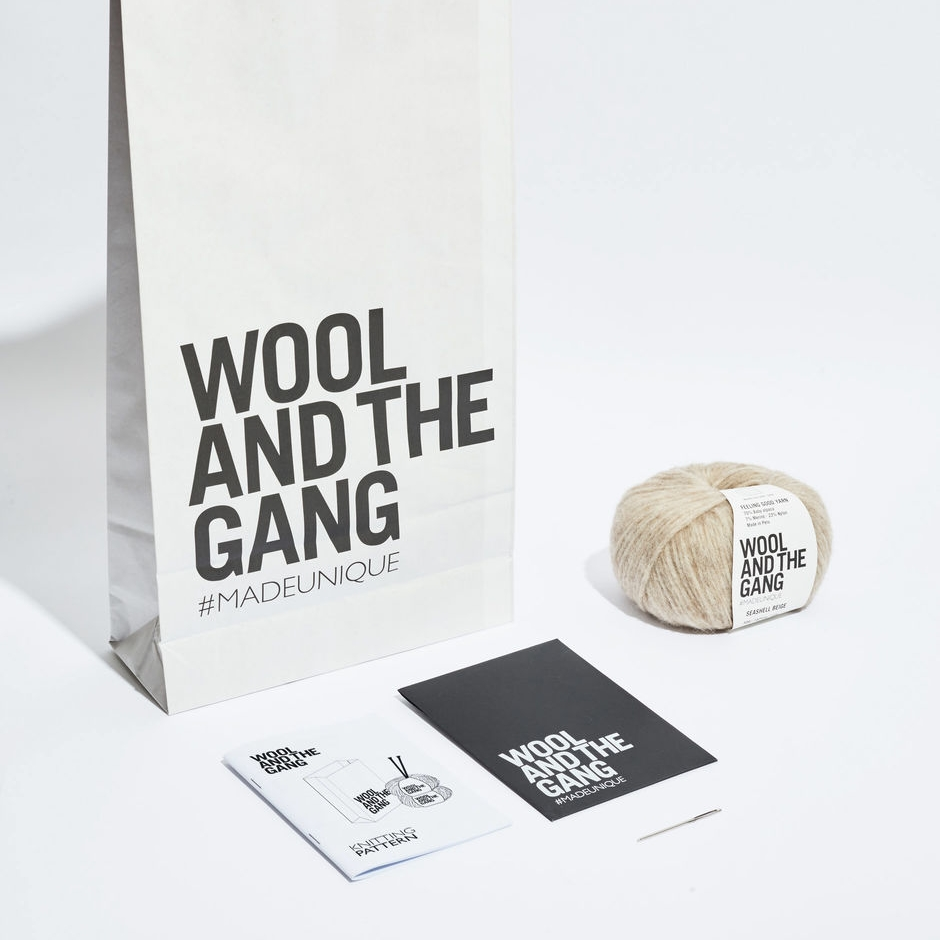 KNITTING Kit |$20+ - Wool and the Gang
