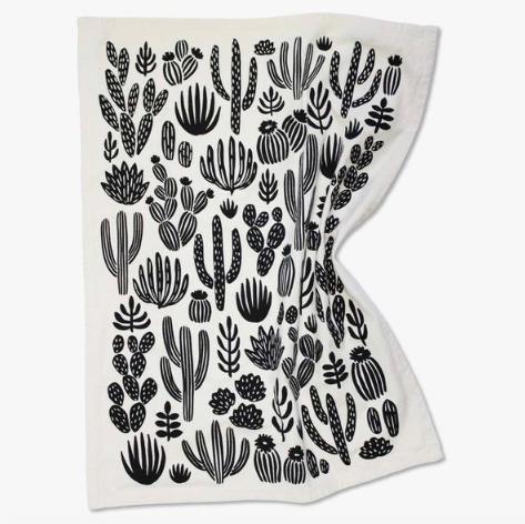 SCREEN printed tea towel |$18 - GATHER Home + Lifestyle