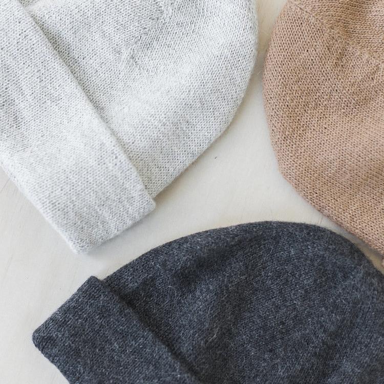 KNIT BEANIE | $68 - Bare Knitwear