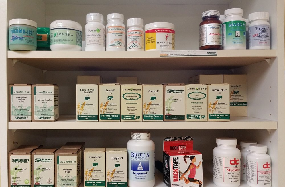 Just a few vitamins that we offer to our patients to manage their organ dysfunction.