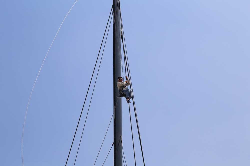 HH6601 Destepping the Mast