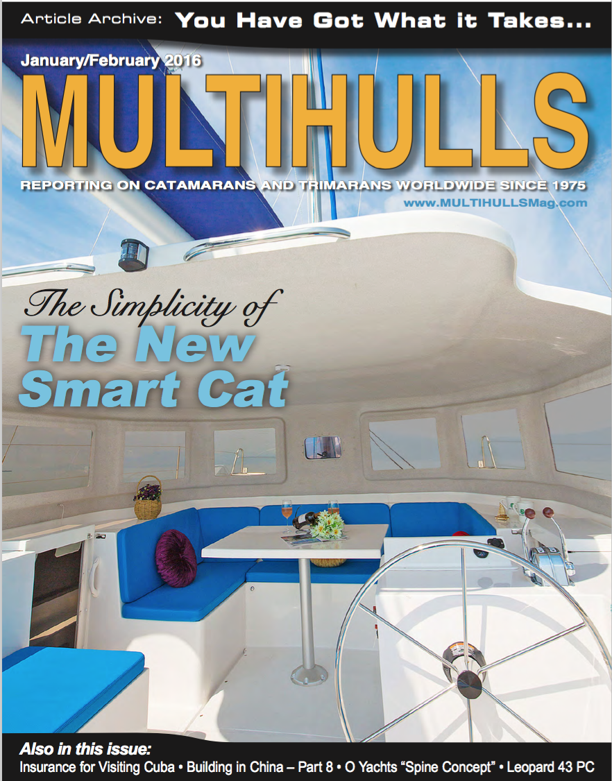 Multihulls  January/February 2016