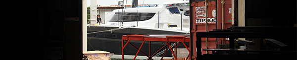 While the commissioning team has had their hands full with R-SIX, it's been business as usual for the production crew at the Hudson Yacht & Marine yard. The HH line is abuzz with 5 66s and 2 55s currently underway. The latest build to commence, HH66-06 is beginning to take shape, with hull laminate layup now in full swing. In addition to substantial progress on each boat, the yard has recently completed a full scale mock-up of the HH55 interior, allowing clients and prospective buyers to get a true sense of the layout and space. If you'd like to learn more about any of these incredible boats or the construction methods we employ, contact a member of our team today