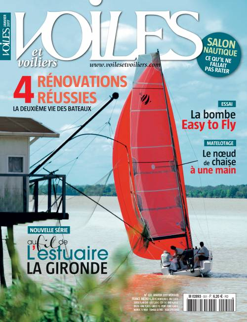 VOILES ET VOILIERS  January 2017 - HH66 Review